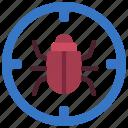 bug, targeting, virus, target, error