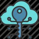 cloud, key, cloudcomputing, technology, unlock