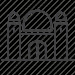 architecture, building, city, mosque icon