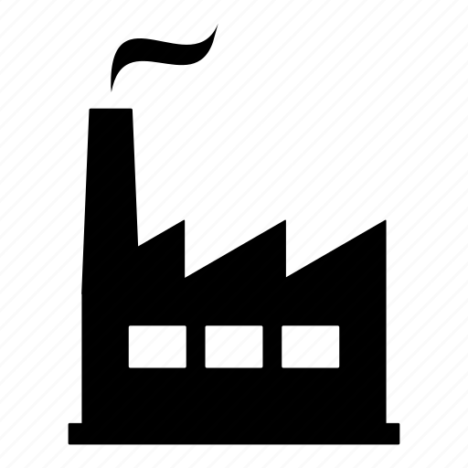 building, company, establishment, factory, manufacturer, powerplant icon