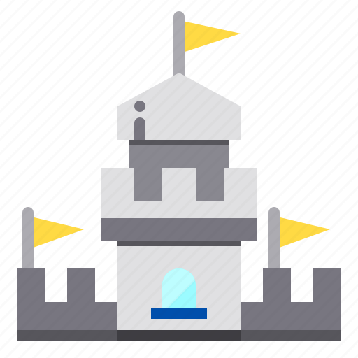 architecture, building, castle, city, construction icon
