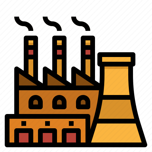 building, company, factory, industry, manufacturer icon