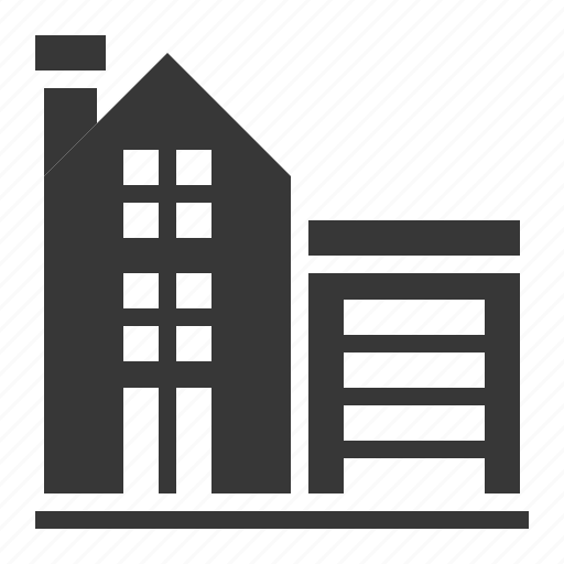 Architecture, building, city, town, warehouse icon - Download on Iconfinder