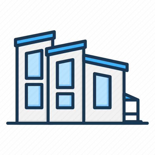 apartment, building, house, office, real estate icon