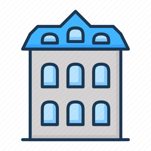apartment, building, hotel, house, real estate icon