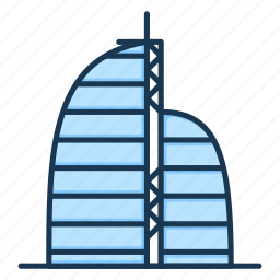 apartment, building, hotel, office, real estate, skyscraper icon