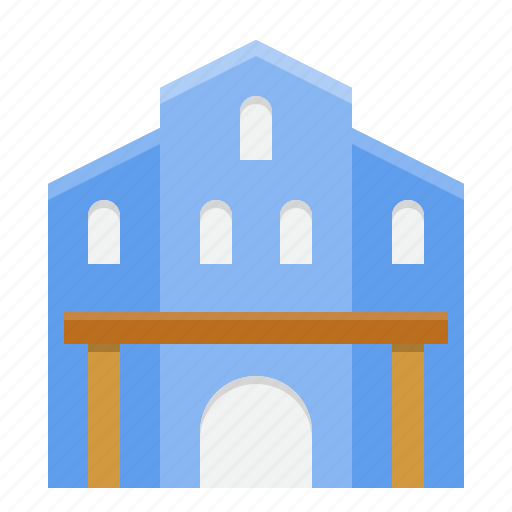 architecture, building, city, museum, town icon