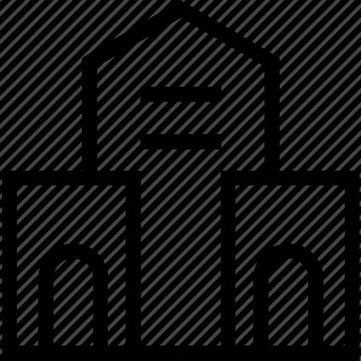 architecture, building, city, construction, estate icon