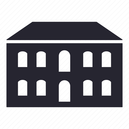 apartment, building, hall, home, hotel, house icon