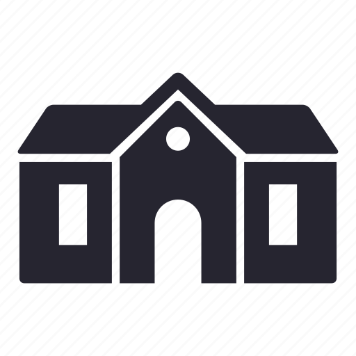 apartment, building, home, house, office, school icon
