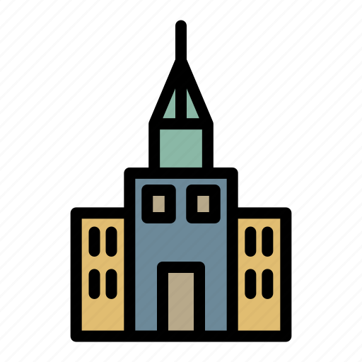 building, business, factory, home, hospital, hotel, school icon