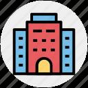 building, city building, flats, office block, skyscraper