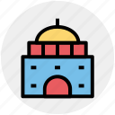 building, cottage, lodge, museum, museum building icon