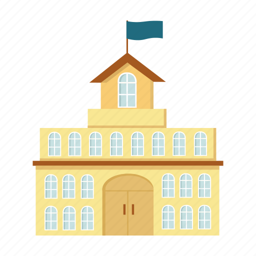 architecture, building, city hall, construction, house icon