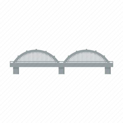 architecture, bridge, building, construction icon