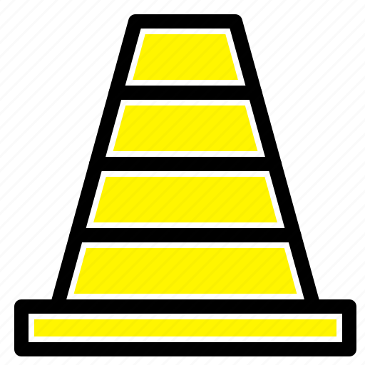 Cone, construction, tool icon - Download on Iconfinder