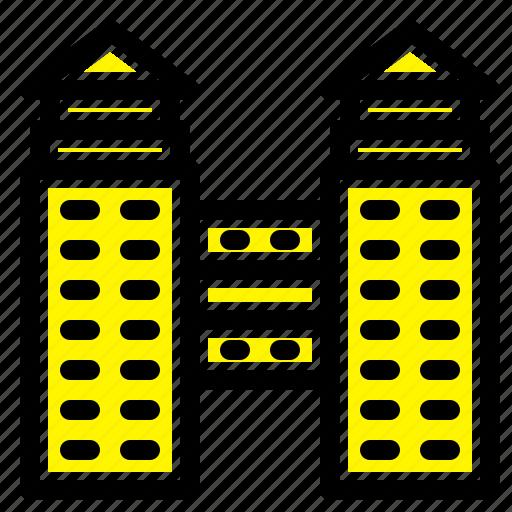 building, city, construction icon