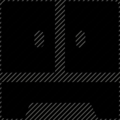 Almirah, bureau, cabinet, cabinet almirah, cupboard, safe, safe almirah icon - Download on Iconfinder