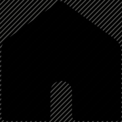 building, home, house, hut, village icon