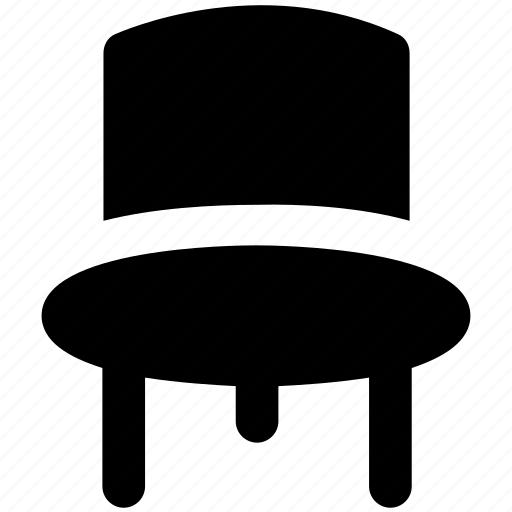 chair, desk chair, office chair, office furniture, seat, wood chair icon