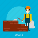 apartment, architecture, building, construction, home icon