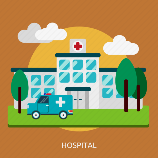 building, construction, emergency, health, hospital icon