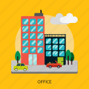 building, business, construction, office, work, worker icon