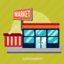 building, construction, market, retail, shop, store, supermarket icon