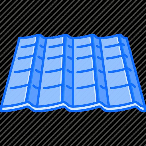 building, coating, interior, repairs, roof, tile icon