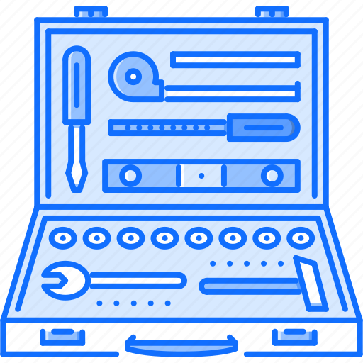 case, hammer, screwdriver, tool, tools, wrench icon