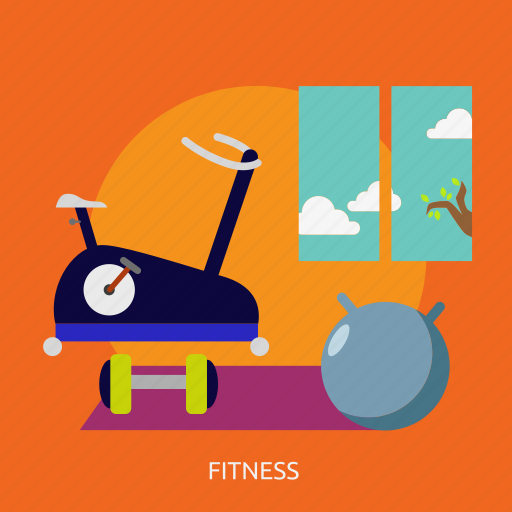building, exercise, fitness, gym, interior, training icon