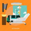 building, patient, recovery, medical, interior, sickroom, medicine