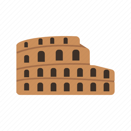 ancient, architecture, coliseum, colosseum, europe, history, rome icon