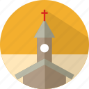 building, church, cross, religious icon