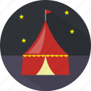 amusement, building, circus, show icon
