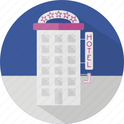 building, business, caottage, hotel, motel, stay icon