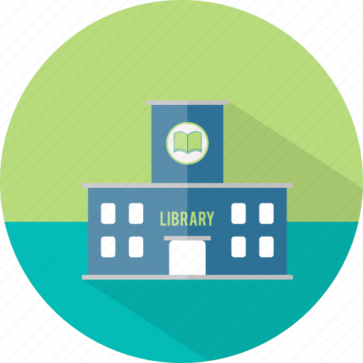 books, building, education, library, reading, study icon
