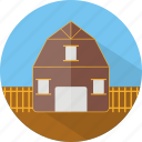 building, fram, ranch icon