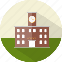 building, education, school, study icon