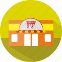 building, ecmommerce, market, shop, store icon