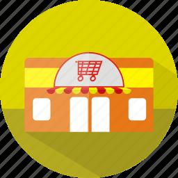 building, ecmommerce, market, shop, store icon