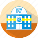 building, ecmommerce, market, shop, store, supermarket icon