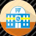 building, shop, ecmommerce, supermarket, store, market