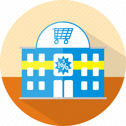 building, ecmommerce, market, shop, store, supermarket icon