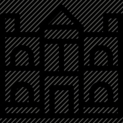 building, college, institute, real estate, school icon