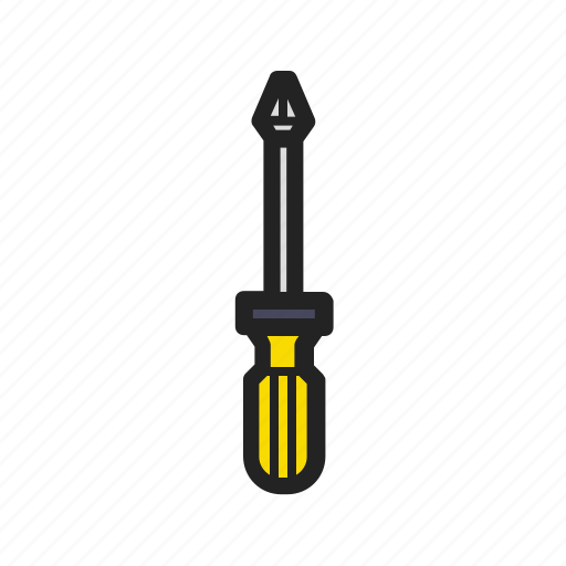 building, building tools, construction, phillips, screwdriver, tool icon