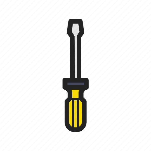 blade, building, building tools, construction, repair, screwdriver, tool icon