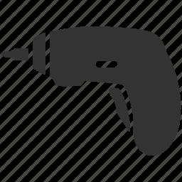 auto screwdriver, electric screwdriver, hardware, repair, screwdriver, service, wrench icon