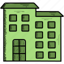 building, company, corporation, office icon