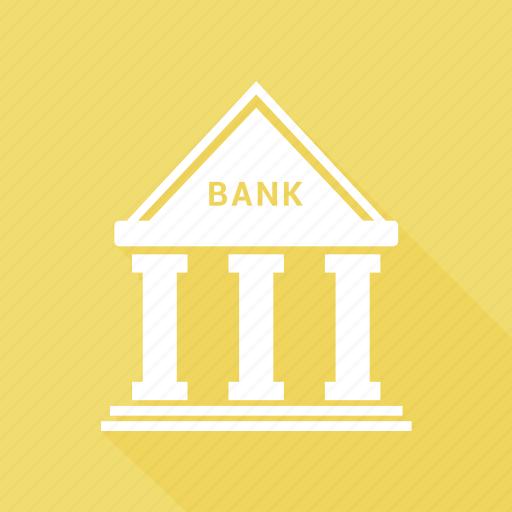 bank, building, capital icon